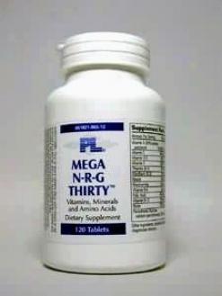 Progressive Lab's Mega N-r-g Thirty 120 Tabs