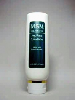 Progressive Lab's Msm Rejuvenator Skin Cream 6 Oz
