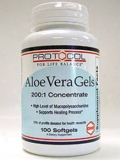 Protocol For Life Balance Aloe Vera Gels 100 Gels