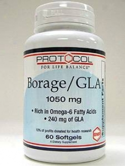 Protocol For Life Balance Borage/gla 1050 Mg 60 Gels