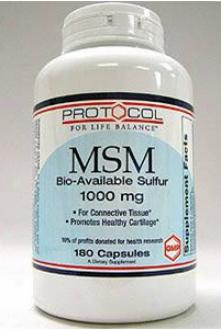 Protofol For Life Balance Msm 1000 Mg 180 Caps