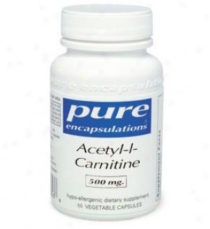 Pure Encap's Acetyl-l--carnitine 250mg 60vcaps