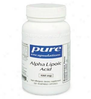 Pure Encap's Alpha Lipoic Acid 100mg 60vcaps