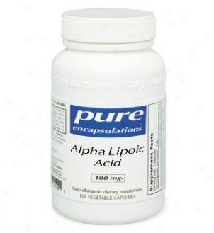 Pure Encap's Alpha Lipoic Acid 400mg 120vcaps