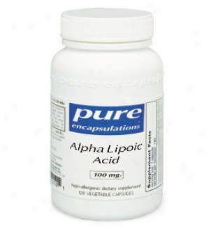 Pure Encap's Alpha Lipoic Acid 600mg 120vcaps