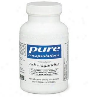 Pure Encap's Ashwagandha 500mg 120vcaps