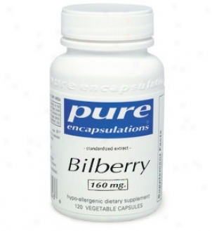 Pure Encal's Billberry 80mg 120vcaps