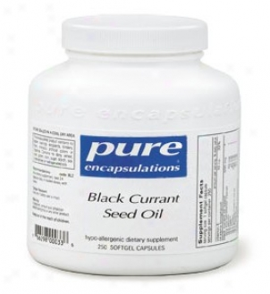 Pure Encap's Black Currant Seed Oil 500mg 100sg
