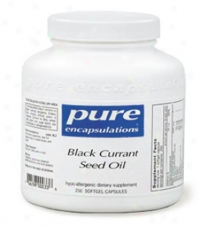 Pure Encap's Black Currant Seed Oiil 500mg 250sg