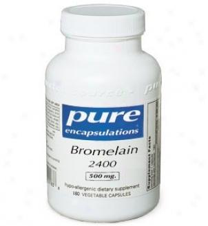 Pure Encap's Bromelain 2400 500mg 180vcaps