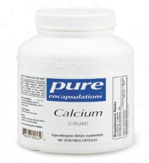 Pure Encap's Calcium Citrate 150mg 180vcaps