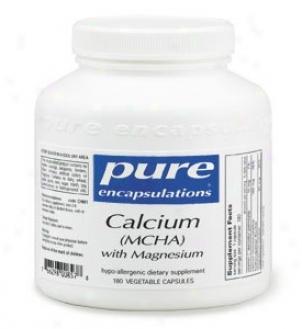 Pure Encap's Calcium( mcha) W/ Magnesium 180vcaps