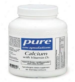 Pure Encap's Calcium W/ Vitamin D3 90vcaps