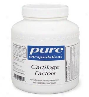 Pure Encap's Cartilage Factors 200mg 180vcaps