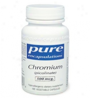 Pure Encap's Chromium Picolinate 500mcg 60vcaps