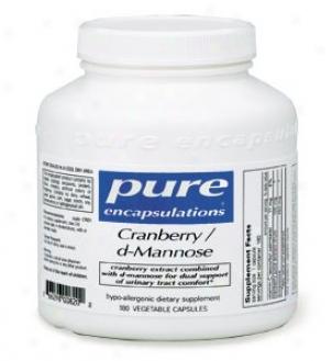 Pure Encap's rCanberry / D-mannose 90vcaps