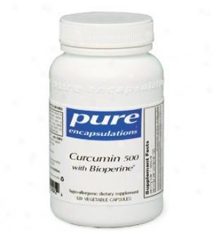 Pure Encap's Curcumin 500 With Bioperineã¿â¿â¾ 120vcas