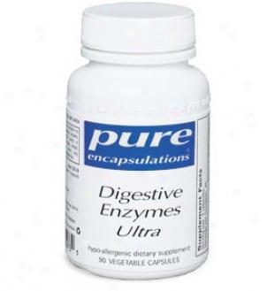 Pure Encap's Digestive Enzymes Ultra 90caps