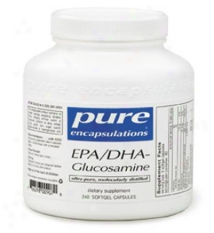 Pure Encap's Epa/dha Glucosamine 120caps