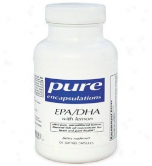 Pure Encap's Epa/dha W/ Lemo n60sg