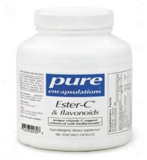 Pure Encap's Ester-c & Flavonoids 180vcaps
