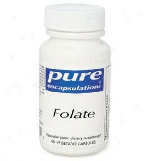 Pure Encap's Folate 800mcg 60vcaps
