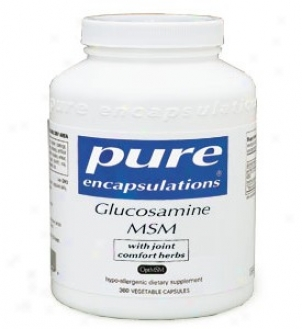 Pure Encap's Glucosamine Chondroitin W/ Msm 360vcaps