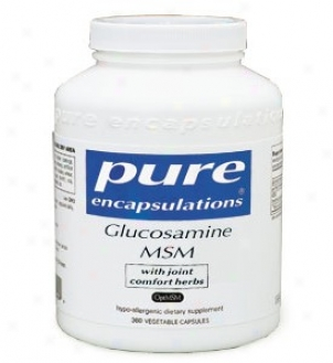 Pure Encap's Glucosamine/msm W/ Joint Comfort Herbs 360vcaps