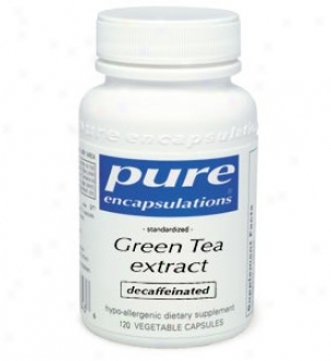 Pure Encap's Green Tea (decaffinated) 100mg 60vcaps