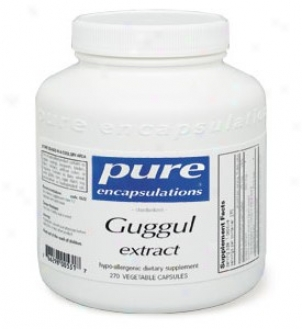 Pure Encap's Guggul Extract 500mg 270vcaps