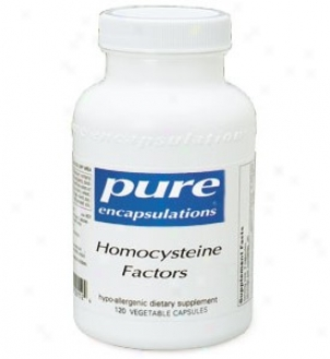 Pure Encap's Hoocysteine Factors 180vcaps