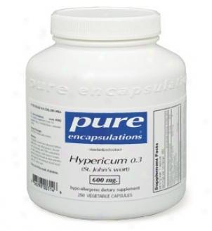Pure Encap's Hypericum 0.3 600mg 120vcaps