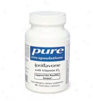 Pure Encap's Ipriflavone W/ Vitamin D3 180vcaps