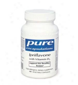 Pure Encap's Ipriflavone W/ Vitamin D3 90vcaps
