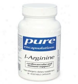 Pure Encap's L-arginine 750mg 90vcaps