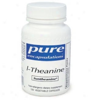 Pure Encap's L-theanine 200mg 120vcaps