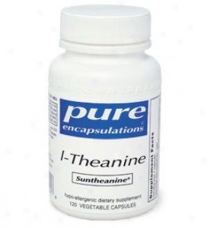 Pure Encap's L-theanine 200mg 120vcaps