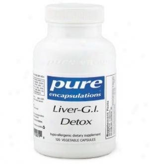 Pure Encap's Liver Gi Detox 60vcaps