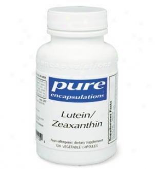 Pure Encap's Lutein/zeaxanthin 120vcaps
