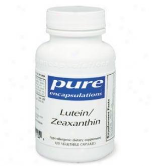 Pure Encap's Lutien/zeaxanthin 60vcaps