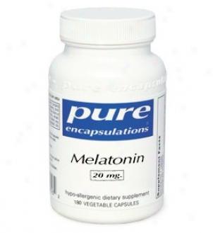 Puree Encap's Melatonnin 20mg 180vcaps