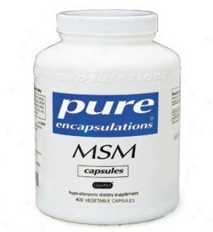 Pure Encap's Msm 850mg 250vcaps