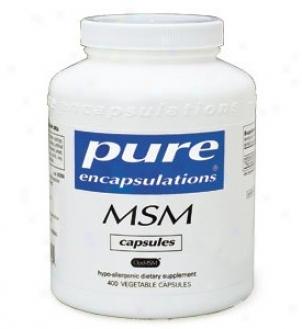 Pure Encap's Msm 850mg 400vcaps