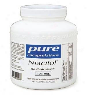 Pure Encap's Niacitol 500mg 120vcaps