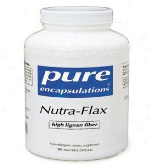 Pure Encap's Nutra-flax - High Lignan Fiber 750mg 250vcaps