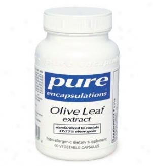 Pure Encap's Olive Leaf 500mg 60vcaps