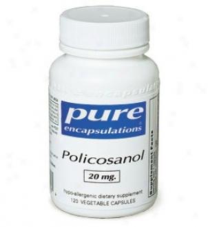 Pure Encap's Policosanol 10mg 120vcaps