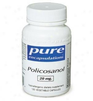 Pure Encap's Policosanol 10mg 60vcaps