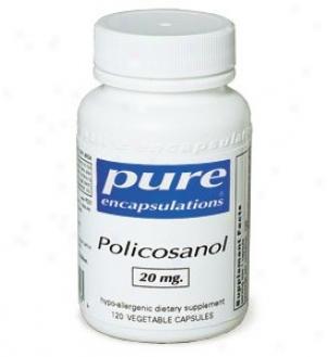 Pure Encap's Policosanol 20mg 120vcaps
