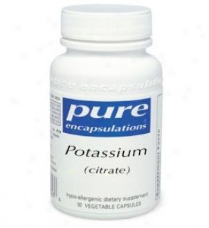 Pure Encap's Potassium Citrate 200mg 90vdaps